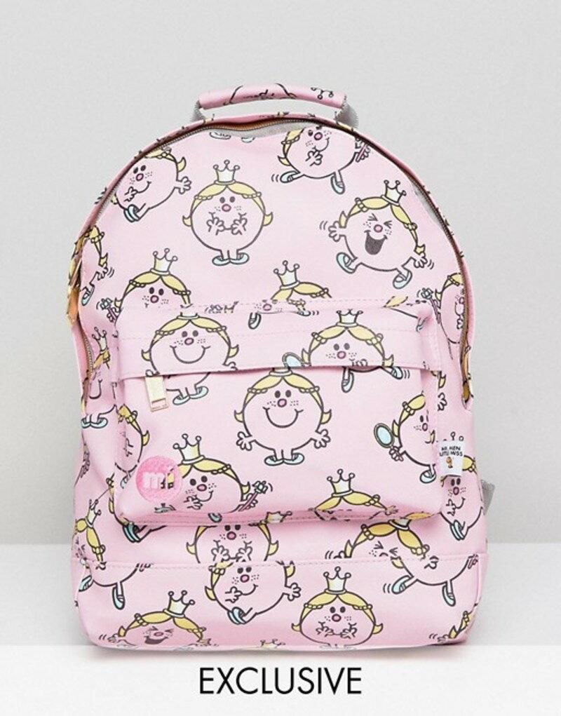 d2547a09183f マイ・パック ASOS レディース バックパック レディース・リュックサック バッグ Mi-Pac パタゴニア Exclusive Little  Miss Princess Mini Backpack Pink:ReVida 店 ...