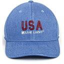 ショッピングシチズン ブラック クローバー レディース 帽子 アクセサリー Black Clover Women's Citizen Golf Hat Denim