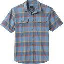 ショッピングケイマン プラーナ メンズ シャツ トップス Prana Men's Cayman Plaid Shirt Nickel