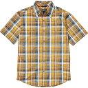 ショッピングソーラー マーモット メンズ シャツ トップス Marmot Men's Lykken SS Shirt Solar