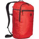 ブラックダイヤモンド メンズ バックパック・リュックサック バッグ Black Diamond Trail Zip 18 Backpack Hyper Red