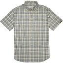 ショッピングダコタ ダコタグリズリー メンズ シャツ トップス Dakota Grizzly Men's Hume SS Shirt Field