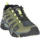 ショッピングメレル メレル メンズ ブーツ・レインブーツ シューズ Merrell Men's Moab Edge 2 Shoe Olive Drab