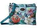ショッピングジャルダン アヌスカ レディース ハンドバッグ バッグ 595 Jardin Bleu
