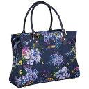 ショッピングスーツ イザックミズラヒ メンズ スーツケース バッグ Irwin 2 DLX Shopper Tote Navy Floral