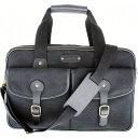 レザーベイ メンズ スーツケース バッグ Turin Commuter Briefcase Black