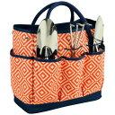 ピクニックアットアスコット メンズ スーツケース バッグ Gardening Tote with 3 Tools Orange/Navy