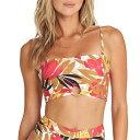 ビラボン レディース トップのみ 水着 Billabong Tropic Nights Bandeau Bikini Top - Women's Multi