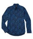 マイケルコース メンズ シャツ トップス Slim-Fit Grady Stretch Long-Sleeve Woven Shirt Ship Blue