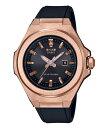 ショッピングG-SHOCK ジーショック レディース ブレスレット・バングル・アンクレット アクセサリー G-MS Analog Rose Gold Black Resin Watch Black