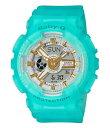 ショッピングG-SHOCK ジーショック レディース ブレスレット・バングル・アンクレット アクセサリー Baby G Ana Digi Blue Skeleton Shock Resistant Watch Aqua
