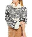 ショッピングスウェット フリーピープル レディース パーカー・スウェット アウター Jupiter Cowl Neck Long Sleeve Cropped Pullover Sweater Falling Waters Combo