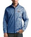 アンティグア メンズ ジャケット・ブルゾン アウター NBA Golf Full-Zip Jacket Oklahoma City Thunder Dark Royal/Heather