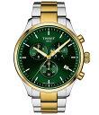 ■ブランド Tissot (ティソット)■商品名 Chrono Xl Classic Two Tone Stainless Steel Bracelet Watch■商品は海外よりお取り寄せの商品となりますので、お届けまで10日-14日前後お時間頂いております。 ■ブランド・商品・デザインによって大きな差異がある場合があります。 ■あくまで平均的なサイズ表ですので「目安」として参考にしてください。 ■お届けの商品は1枚目のお写真となります。色展開がある場合、2枚目以降は参考画像となる場合がございます。 ■只今、すべて商品につきまして、期間限定で送料無料となります。