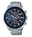 ジーショック メンズ 腕時計 アクセサリー Blue Edifice Solar Chronograph Watch Silver