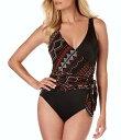 マジックスーツ レディース タンクトップ トップス Navajo Misty Control Fit Shaping One Piece Swimsuit Black/Multi