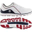 ショッピングゴルフシューズ フットジョイ メンズ スニーカー シューズ FootJoy Men's 2019 Pro/SL Golf Shoes White/Navy/Red