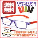 【お試し企画/送料無料】お試し老眼鏡! バネ丁番で快適 5カラーから選べるケース付