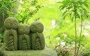 絵画風 壁紙ポスター (はがせるシール式) 鎌倉 長谷寺 長谷観音 かわいい 地蔵 癒し 森林浴 キ