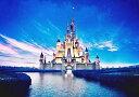 【売れ筋】絵画風 壁紙ポスター (はがせるシール式) ディズニーワールド 星空とシンデレラ城 キャラ