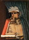 絵画風 壁紙ポスター(はがせるシール式) ジュゼッペ・アルチンボルド 司書 1566年 スコークロステル城 スウェーデン キャラクロ K-ACB-009S2 (436mm×594mm) 建築用壁紙+耐候性塗料 インテリア