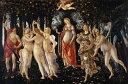 絵画風 壁紙ポスター(はがせるシール式) サンドロ・ボッティチェリ プリマヴェーラ 1477年-78年頃ウフィツィ美術館 キャラクロ K-BTC..