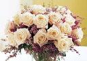 絵画風 壁紙ポスター (はがせるシール式) 白いバラ ブーケ 白薔薇 ハイブリッド ティー モダンローズ 花 キャラクロ FROS-021A2 (A2版 594mm×420mm) 建築用壁紙+耐候性塗料 インテリア