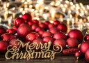 絵画風 壁紙ポスター (はがせるシール式) メリー クリスマス Merry Christmas! メリーX'mas キャラクロ XMS-016A1 (A1版 830mm×585mm) 建築用壁紙+耐候性塗料 インテリア