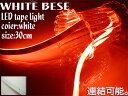 テープライト 30レッド 白ベース 高輝度LED 【送料無料】/###テープBD-ET30赤★###
