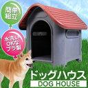 犬小屋 屋外 小型犬用 丸洗いOK清潔プラ製 錆びない 腐らない 空気循環 通気口付き 犬舎 室内 ドッグハウス ペットハウス