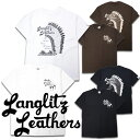 【Langlitz Leathers ラングリッツレザーズ】Tシャツ/S/S Tee type LL239★REAL DEAL