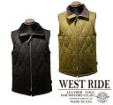 【WESTRIDE ウエストライド】ベスト/MID VENTILE VEST!REAL DEAL