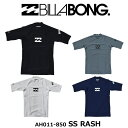ビラボン メンズ AH011-850 ベーシックロゴ半袖ラッ...