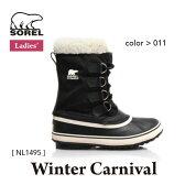 ソレル レディース ウィメンズ スノーブーツ ウィンターカーニバル WINTER CARNIVAL SNOW BOOTS SOREL カラー:011 NL1495 【2016年秋冬新商品】