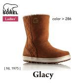 ソレル レディース ウィメンズ ブーツ グレイシー GLACY カジュアル SOREL カラー:286 NL1975 【2016年秋冬新商品】