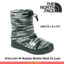 ノースフェイス レディース ブーツ ヌプシブーティー ウール Nuptse Bootie Wool II Luxe NFW51684 カラー:MM THE NO...