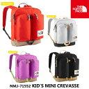 sale ノースフェイス THE NORTHFACE キッズ リュック NMJ71552 ミニクレバス(キッズ) K Mini Crevasse バックパック ...