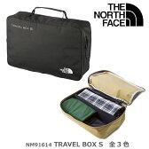 THE NORTH FACE ノースフェイス NM91614 TRAVEL BOX Sサイズ トラベルボックスS 全3色 旅行用小分けバッグ