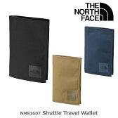 ノースフェイス 財布 THE NORTH FACE NM81607 シャトルトラベルワレット Shuttle Travel Wallet 【nekofree】
