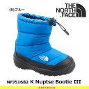 ノースフェイス キッズ ブーツ 子供 ヌプシブーティー3 K Nuptse Bootie III NFJ51682 カラー:B THE NORTH FACE 【...