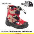 ノースフェイス キッズ ブーツ 子供 ヌプシブーティー3 K Nuptse Bootie Wool II Luxe NFJ51684 カラー:RC THE NORTH FACE 【2016年秋冬新商品】