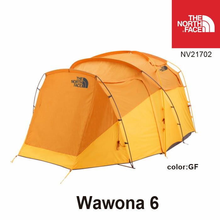 ノースフェイス テント NV21702 Wawona 6 ワオナ 6人用 カラー:GF THE NORTH FACE キャンプ アウトドア [11118ss][04]