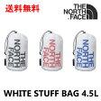 ノースフェイス リュック ホワイトスタッフバッグ 4.5L THE NORTH FACE NM91208 バックパック 衣類 収納 正規品 バッグ ビジネス 通勤 通学 登山 トレッキング