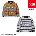 ショッピングノルディック ノースフェイス セーター カーディガン NT92036 Nordic Half Dome Sweater ノルディックハーフドームセーター ユニセックス The North Face [11120fw]