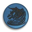 【クシャルダオラ】モンスターハンター:ワールド モンスターアイコン刺繍缶バッジコレクション Vol.2