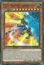 遊戯王 RIRA-EN023 巨大戦艦 ブラスターキャノン コア B.E.S. Blaster Cannon Core (英語版 1st Edition スーパーレア) Rising Rampage