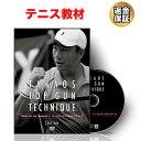 テニス 教材 DVD 鈴木貴男の TOP GUN TECHNIQUE 11ナチュラルスピンサービス