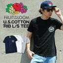 ロゴTシャツ サークルロゴ FRUIT OF THE LOOM メンズ パックT Tシャツ フルーツオブザルーム