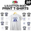メンズTシャツ プリントTシャツ アメカジTシャツ FRUIT OF THE LOOM(フルーツオブザルーム) USAコットン使用 プリント Tシャツ