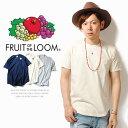 Tシャツ ラウンドカット ポケットTシャツ ポケT FRUIT OF THE LOOM フルーツオブザルーム U.Sコットン100%